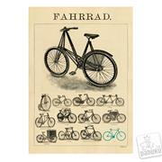 "Plakat 50 x 70 cm ""Fahrrad"""
