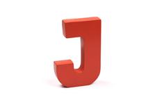 """Holzbuchstabe """"J"""""""