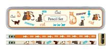 "Bleistift-Set ""Vintage Cats"""