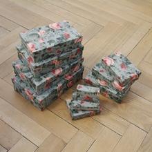 Schachteln 10 Größen, Rosalie