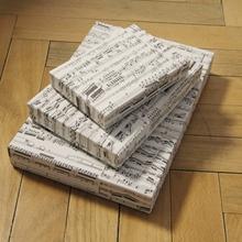 Schachteln 3 Größe flach Noten