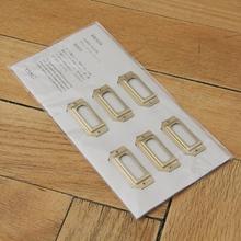 Etikettenrahmen Brass Label Plates