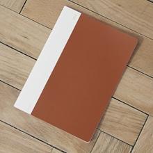 Notizheft Labo Cover rot/braun B5