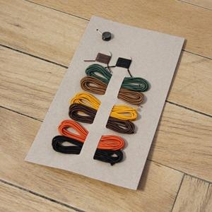 Midori Nr 009 Ersatzgummis 6 Farben