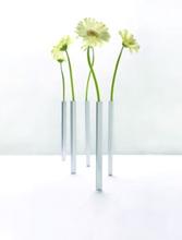 Vase magnetisch Aluminium 5er Set