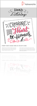 Hand Lettering Block