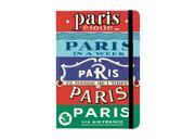 Notizbuch City Guide Paris