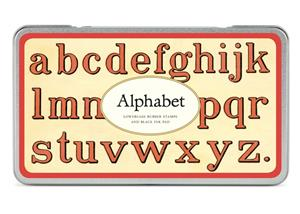 Stempel Alphabet (Lowercase)