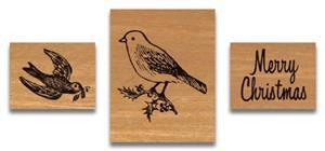 """Stempel """"Christmas Birds"""""""