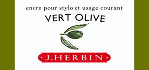 Tinte J. Herbin vert olive, 30ml