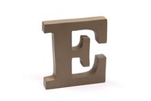 "Holzbuchstabe ""E"""