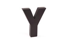 """Holzbuchstabe """"Y"""""""