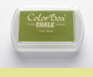 Stempelkissen Kreide Pastell Limone