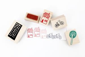 Stempel Set City 5 Stk