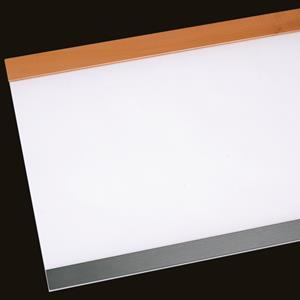 Schreibtischunterlage Holz/Acrylglas