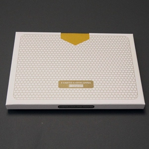 Karten-Set nid d`abeille, C6, 8 Stk.