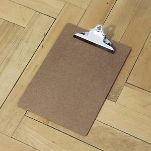 Midori Klemmbrett Clip Board gold
