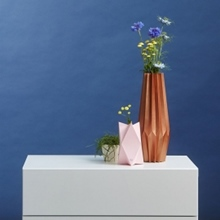 Klappkarte/Umschlag Vase A5 happy hugs