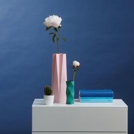 Klappkarte/Umschlag Vase A6 happy hugs