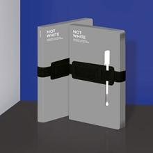 Notizbuch Not White L Light