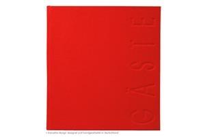 Gästebuch 24,5 x 22,5 cm Blindprägung