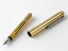 Füller Fountain Pen Solid Brass