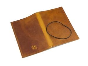 Notizbuch Hülle A6 Leder ohne Inhalt