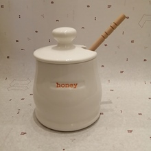 Topf Honig honey pot