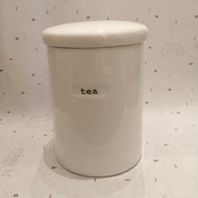 Dose für Tee storage
