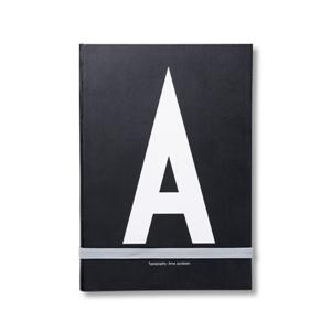 Notizbuch mit Initialie A-Z