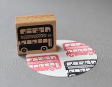 Stempel Bus Doppeldecker