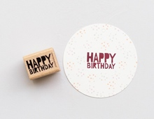 Stempel Happy Birthday 4