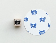 Stempel Katzenkopf