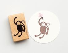 Stempel Affenfrau