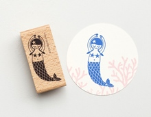 Stempel Meerjungfrau
