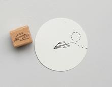 Stempel Papierflieger