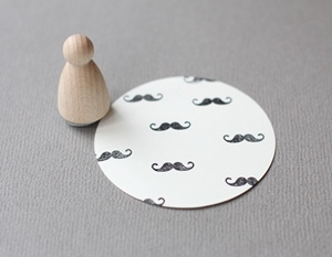 Stempel Moustache