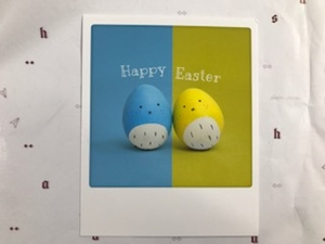 Postkarte Pickmotion Ostern