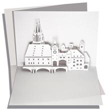 Klappkarte U PopUp Regensburg RifL