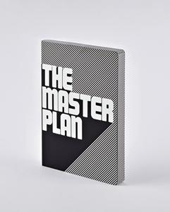 Notizbuch Graphic L The Master Plan
