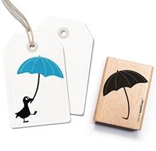 Stempel Regenschirm