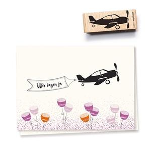 Stempel Flugzeug