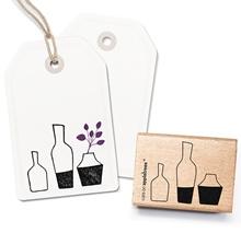 Stempel drei Vasen