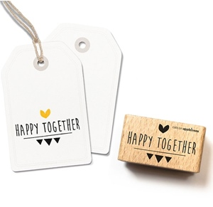Stempel Happy together