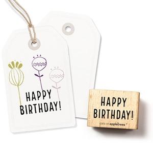 Stempel Happy Birthday!