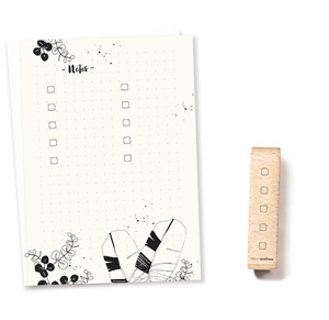 Stempel Checkliste