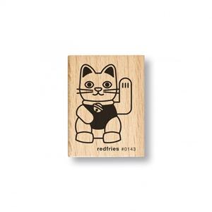 Stempel redfries Katze