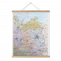 Posterleiste Esche/ Magnet zum Hängen