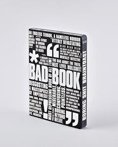 Notizbuch Graphic L Bad Book