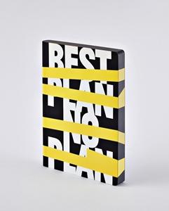 Notizbuch Graphic L Best Plan No Plan